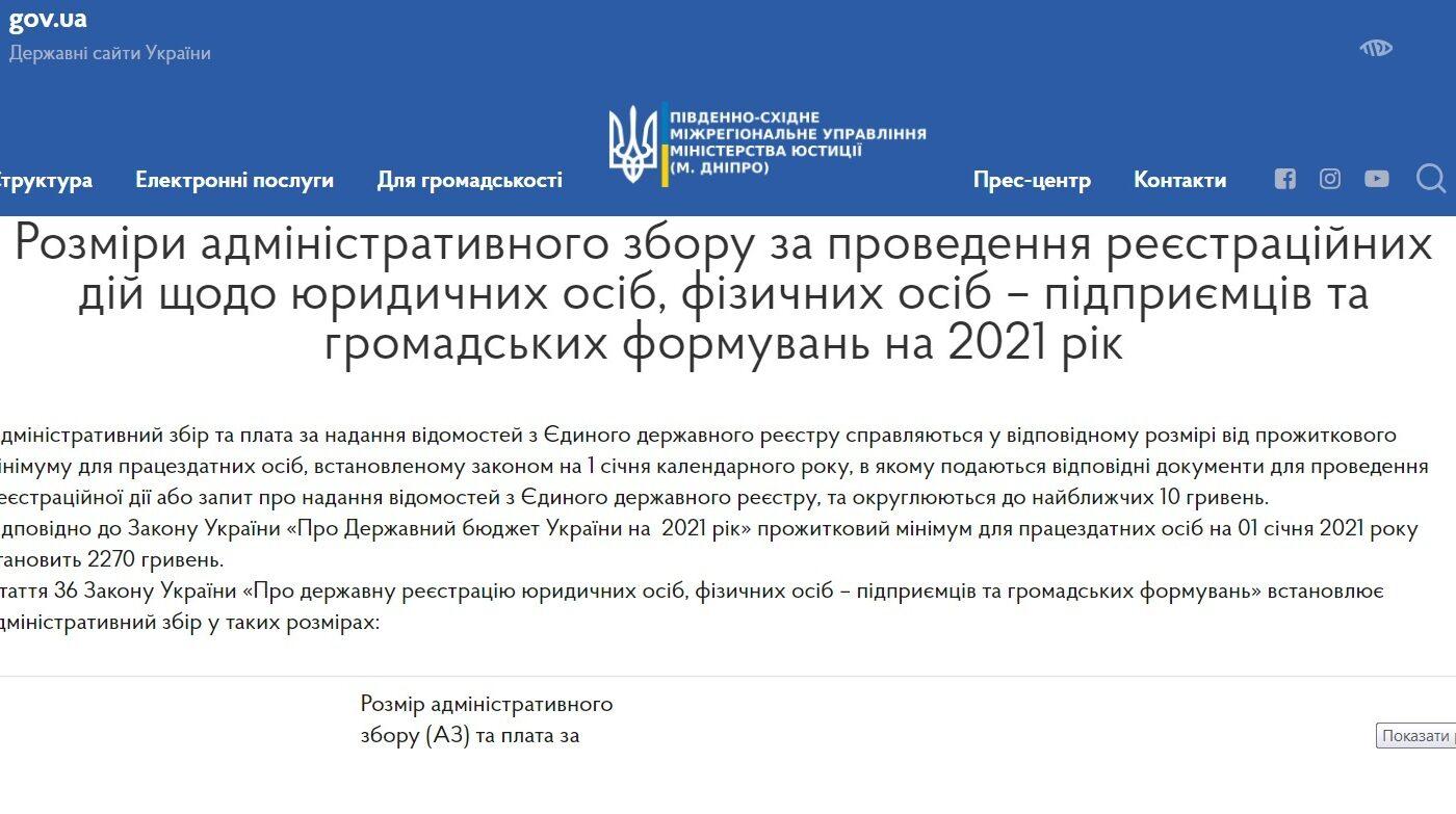 Адмінзбір 2021